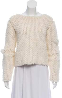 The Row Mink Knit Sweater