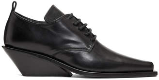 Ann Demeulemeester Black Heeled Derbys