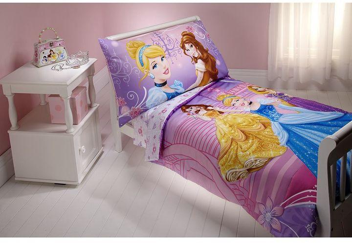 NoJo Disney Princess 4-pc. Toddler Bedding Set