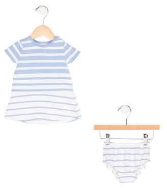 Vince Girls' Striped Dress Set
