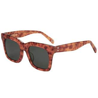 MAREINE Unisex Square Sunglasses Grey Lens/Tortoise Frame - Amazon Vine