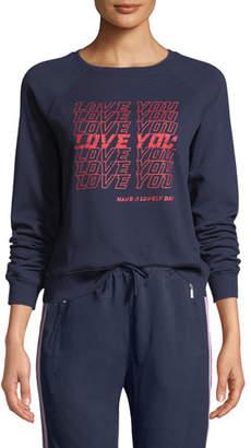 "Rebecca Minkoff Jennings ""Love You"" Sweatshirt"