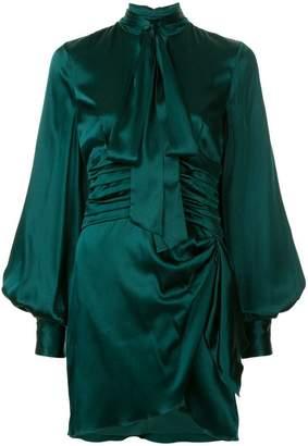 Caroline Constas bell sleeves dress