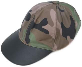 Valentino camouflage baseball cap