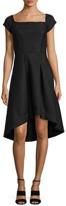 Rachel Roy Striped Scuba Dress