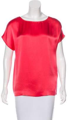 Fendi Sleeveless Silk Top