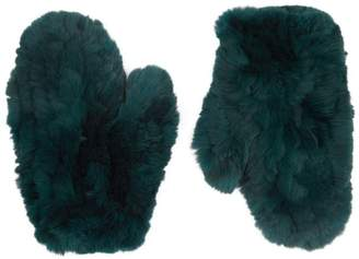 Yves Salomon Rabbit Fur Gloves