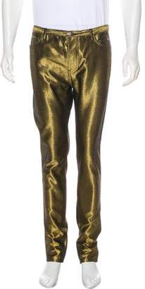 Marc Jacobs Metallic Skinny Pants