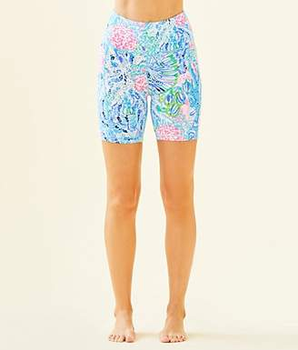 """Lilly Pulitzer UPF 50+ Luxletic 6"""" Weekender High Rise Short"""