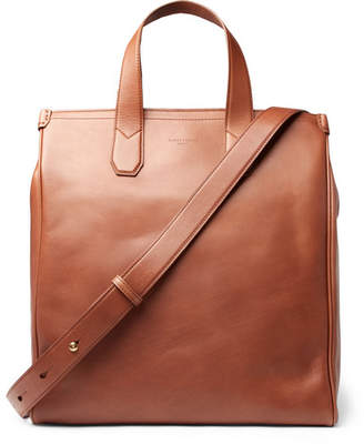 Dunhill Duke Leather Tote Bag - Tan