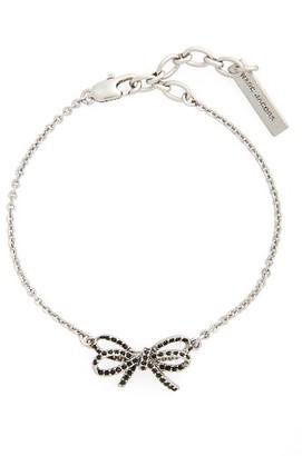 Women's Marc Jacobs Crystal Bow Line Bracelet $75 thestylecure.com
