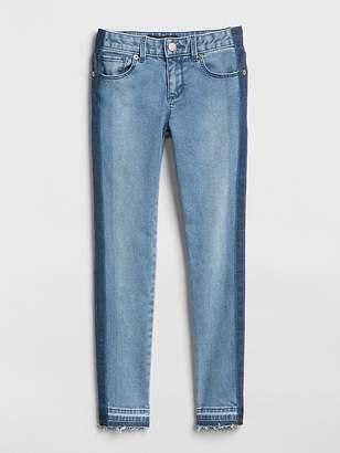 Gap Panel Stripe Super Skinny Jeans