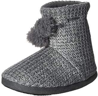 Isotoner Women's Shaker Knit Myrna Boot Slippers