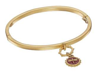 Vince Camuto Hinged Bracelet with Dragonfly Charm