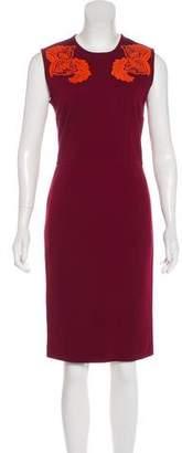 Stella McCartney Embroidered Bodycon Dress