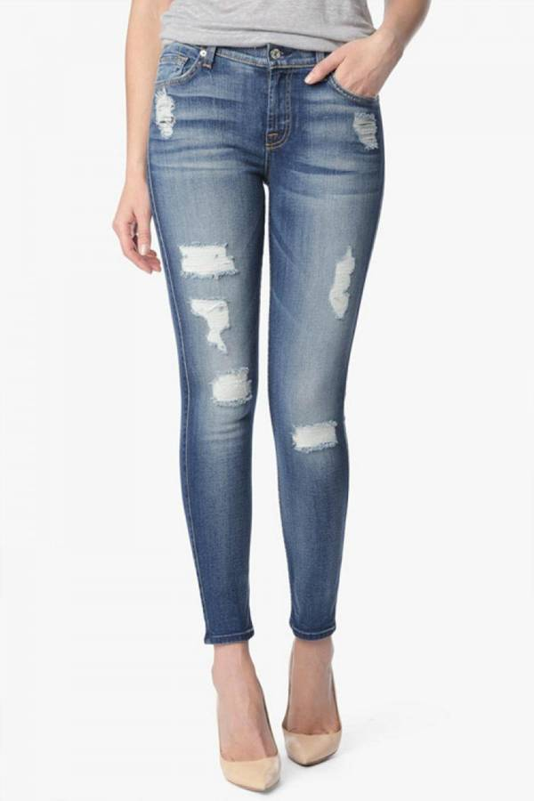 7 For All Mankind7 For all Mankind Ankle Skinny Jean