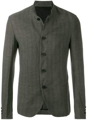 Masnada striped button jacket