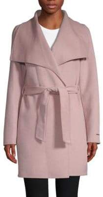 T Tahari Ella Wrapped Coat