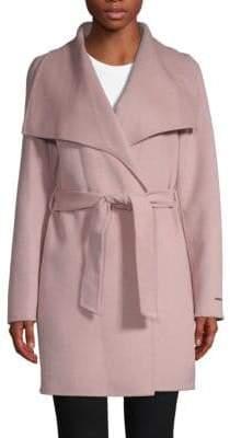 T Tahari Ella Wrapped Coat