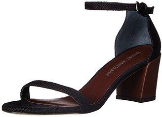 Stuart Weitzman Women's Simple Dress Sandal $398 thestylecure.com