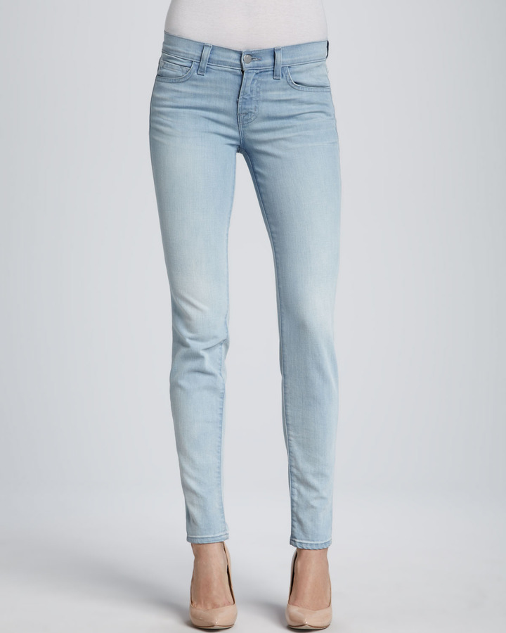 J Brand Jeans 811 Mid-Rise Skinny Jeans, Journey
