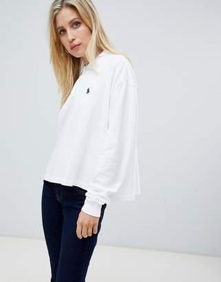 Polo Ralph Lauren long sleeve logo polo top