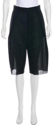 MS MIN High-Rise Knee-Length Shorts w/ Tags