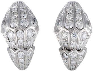 Bulgari 18K Diamond Earrings