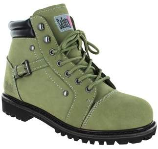 7cad0dfe00b90 Safety Girl Fusion Work Boot -Moss Size 8M Steel Toe