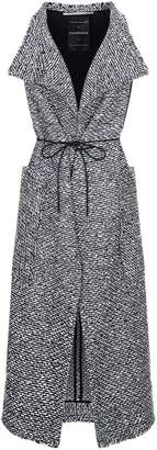 Roland Mouret Lodge Boucle Sleeveless Coat