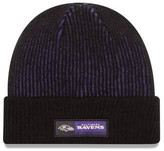 New Era Cap NFL '16 Baltimore Ravens Tech Knit Sideline Cuff Beanie