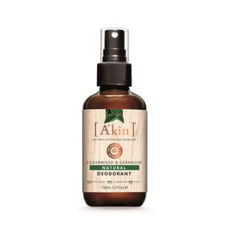 Akin A'kin Cedarwood & Geranium Natural Deodorant 150 mL