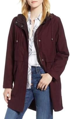 Levi's Cotton Hooded Fishtail Coat