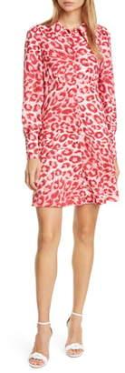 Kate Spade Panthera Long Sleeve Shirtdress