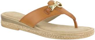 Easy Street Shoes Tuscany by Thong Sandals - Farah