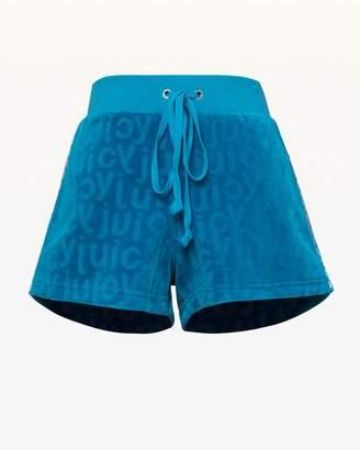 Juicy Couture Juicy Jacquard Velour Short