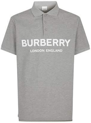 Burberry Luckland Logo Polo Shirt