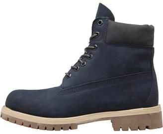 Timberland Mens 6 Inch Premium Boots Navy