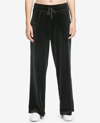 DKNY Sport Wide-Leg Velour Pants