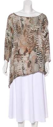 Rag & Bone Silk Oversize Top