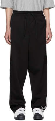 Y-3 Black 3-Stripe Sweatpants