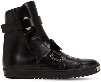 Golden Dawn Leather Sneaker Boots