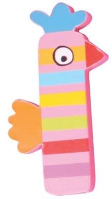 Pink Chicken Tatiri Crazy Animals Letter I