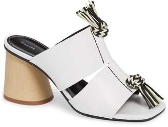 Proenza Schouler Cylinder Heel Slide Sandal