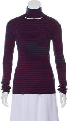 Tanya Taylor Rib Knit Stripe Top