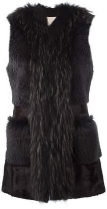 S.W.O.R.D 6.6.44 front pockets sleeveless jacket