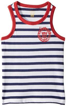 Polo Ralph Lauren Cotton Jersey Graphic Tank Top Boy's Sleeveless