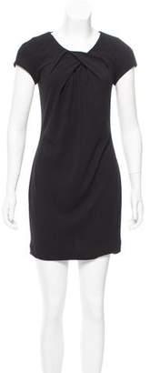 Yigal Azrouel Cut25 by Short-Sleeve Mini Dress
