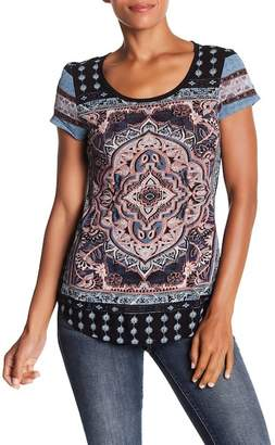 Lucky Brand Persian Carpet Tee