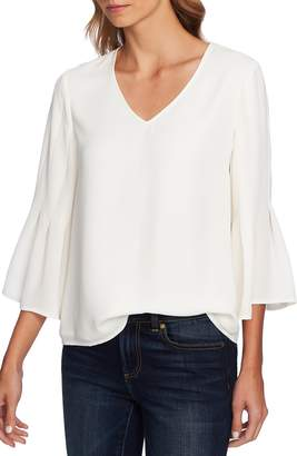 CeCe Bell Sleeve Swing Blouse
